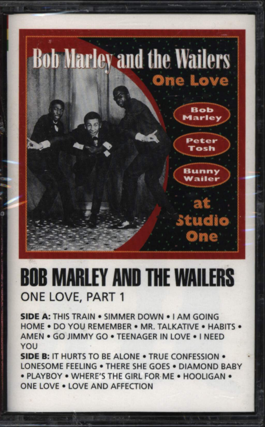 Bob Marley The Wailers One Love Part 1 Compact Cassette