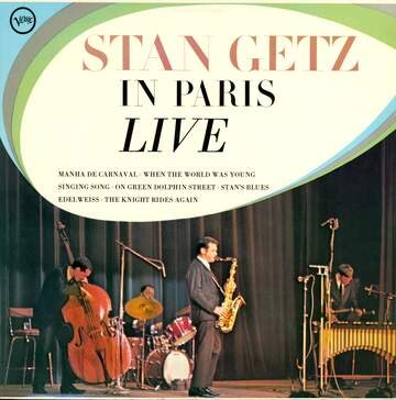 Stan Getz: In Paris Live