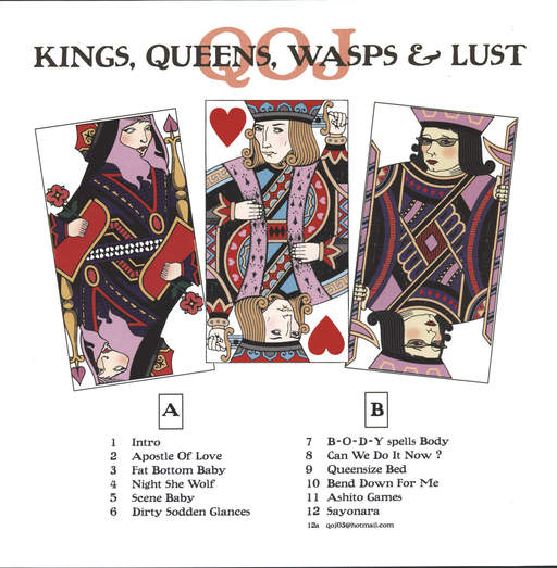 Kings Queens Wasps And Lust
