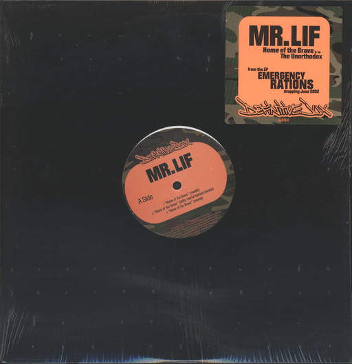MR LIF - Home Of The Brave / The Unorthodox - Maxi 45T