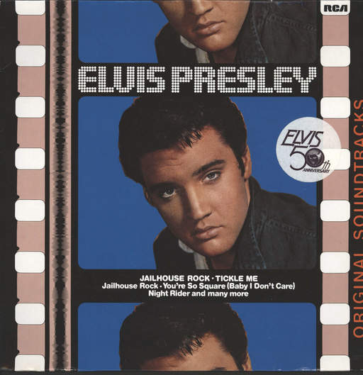PRESLEY, ELVIS - Jailhouse Rock / Tickle Me (original Soundtracks)