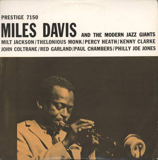 MILES DAVIS - Miles Davis And The Modern Jazz Giants - LP