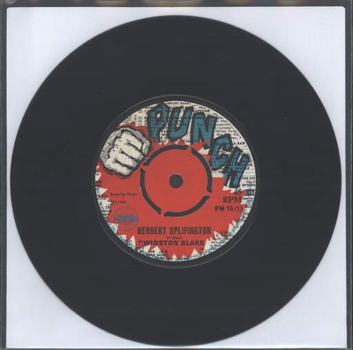 WINSTON BLAKE - Herbert Splifington / Oh Lord Why Lord - 7inch (SP)