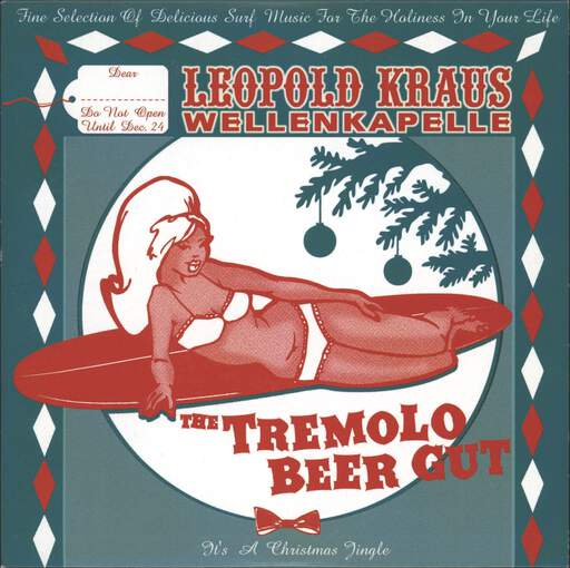 LEOPOLD KRAUS WELLENKAPELLE - It's A Christmas Jingle - 7inch (SP)