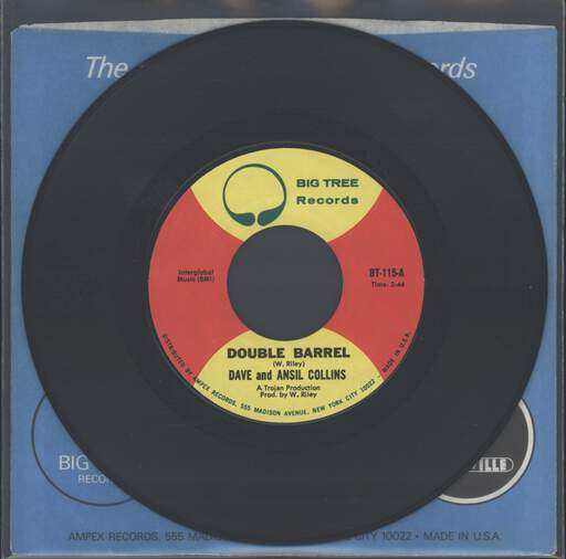 DAVE & ANSEL COLLINS - Double Barrel - 7inch (SP)