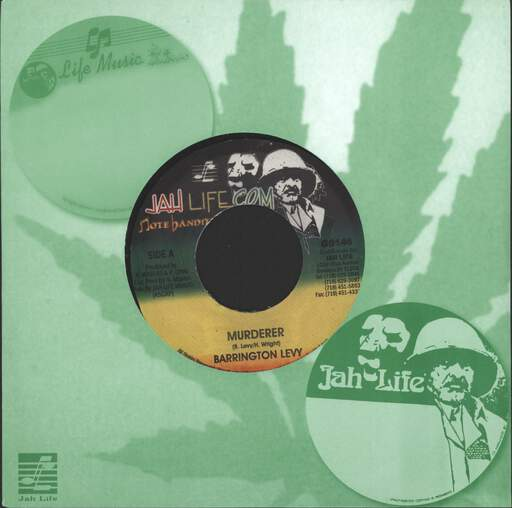BARRINGTON LEVY - Murderer / Version - 45T (SP 2 titres)