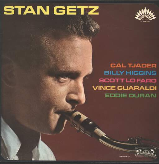 STAN GETZ - Stan Getz With Cal Tjader - LP