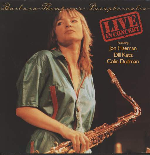 BARBARA THOMPSON'S PARAPHERNALIA - Live In Concert - LP