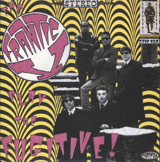 FRANTIC V - Play The Fugitive! - 7inch (SP)