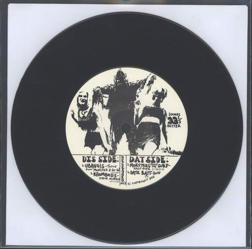 VARIOUS - Brutarian Presents: DeCeased Records Sampler - 7inch (SP)