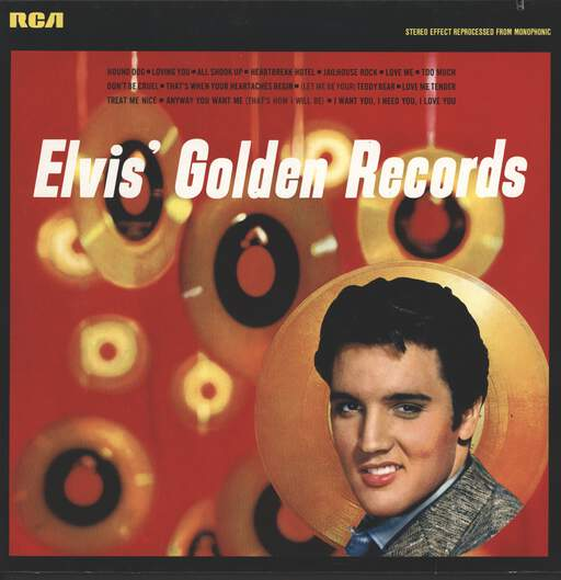 ELVIS PRESLEY - Elvis' Golden Records - LP
