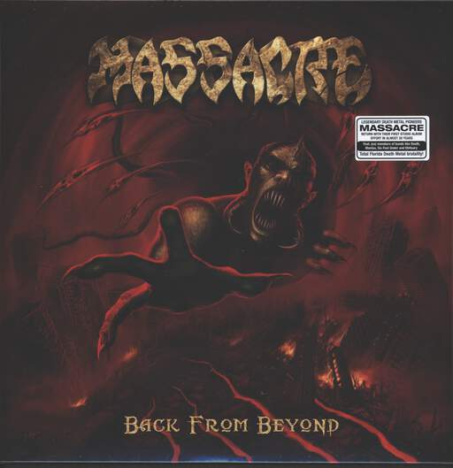 MASSACRE - Back From Beyond - LP