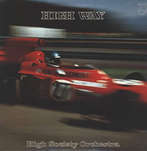 HIGH SOCIETY ORCHESTRA - High Way - LP