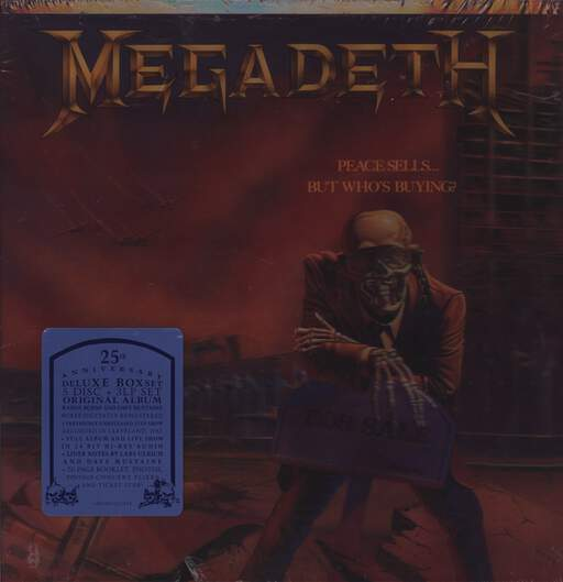 MEGADETH - Peace Sells... But Who's Buying? - 25th Anniversary Deluxe Edition - LP x 3