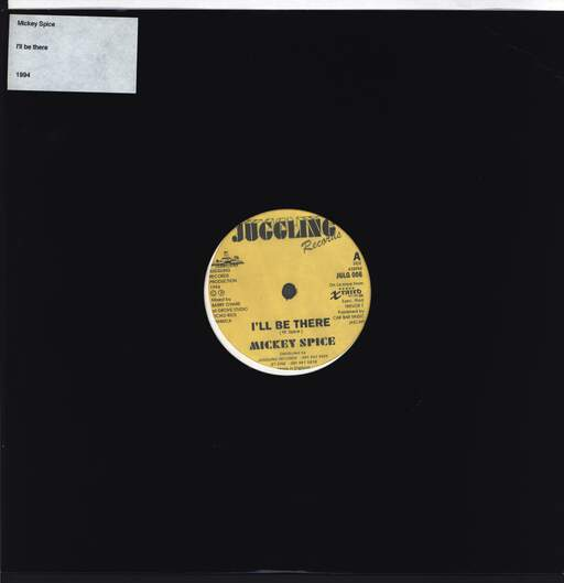 MIKEY SPICE - I'll Be There / Version - 12 inch 45 rpm