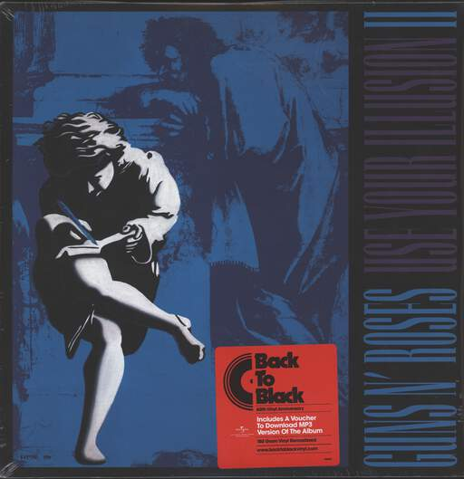 GUNS N ROSES - Use Your Illusion II - LP x 2