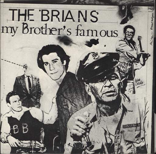 BRIANS - My Brother's Famous - 7inch (SP)