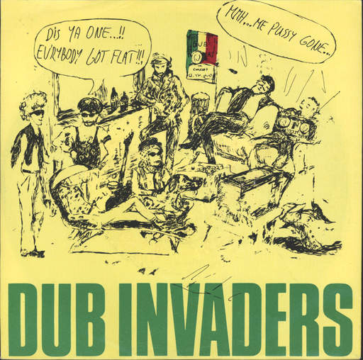 DUB INVADERS - To The Top / Since You Been Gone - 45T (SP 2 titres)
