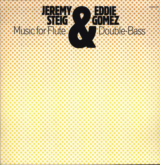 JEREMY STEIG - Music for Flute & Double-Bass - LP