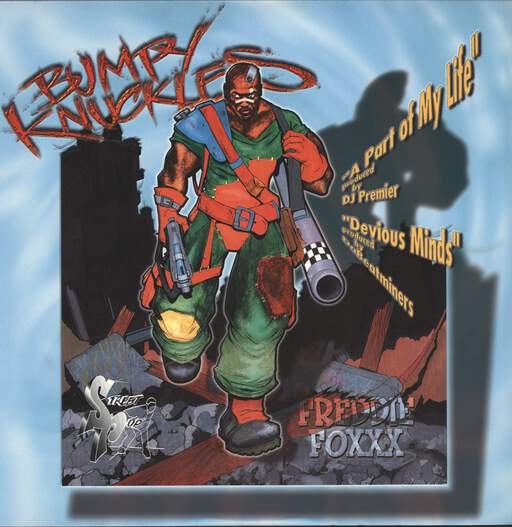 BUMPY KNUCKLES - A Part Of My Life / Devious Minds - 12 inch 45 rpm