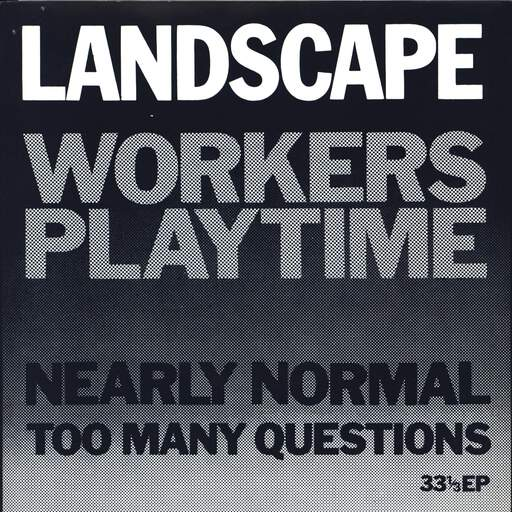 LANDSCAPE - Workers Playtime - 7inch (SP)