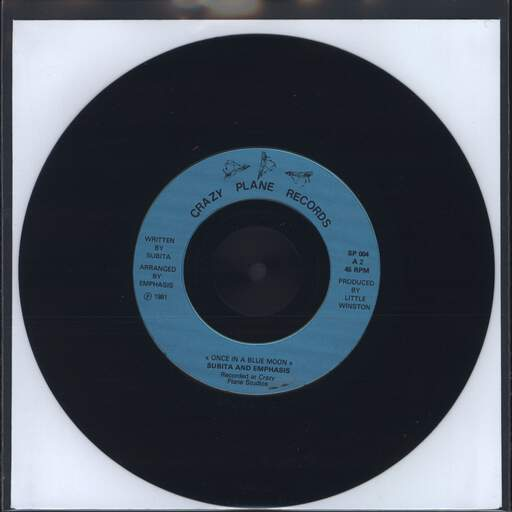 SUBITA - Once In A Blue Moon - 7inch (SP)