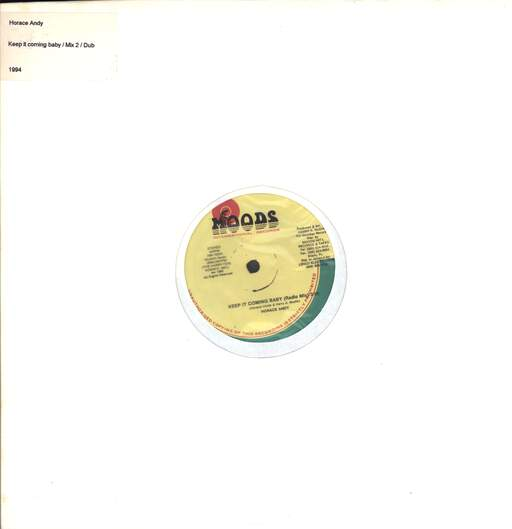 HORACE ANDY - Keep It Coming Baby / It Coming - Maxi 45T