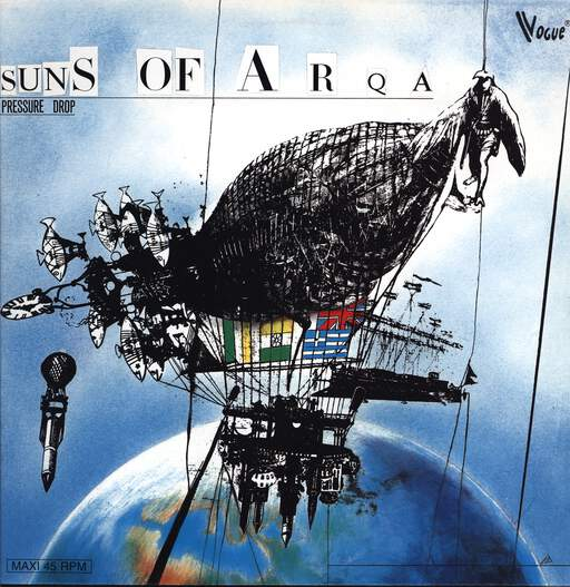 SUNS OF ARQA - Pressure Drop - 12 inch 45 rpm