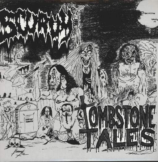 SCURVY - Tombstone Tales / Second Ejaculation - LP