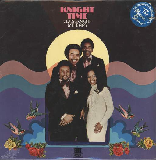 GLADYS KNIGHT AND THE PIPS - Knight Time - LP