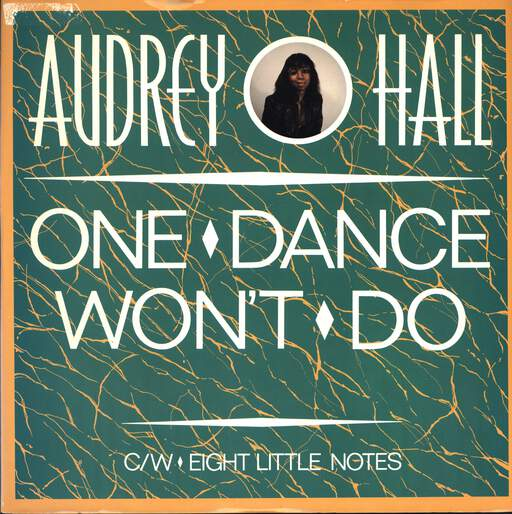 AUDREY HALL - One Dance Won't Do - Maxi 45T