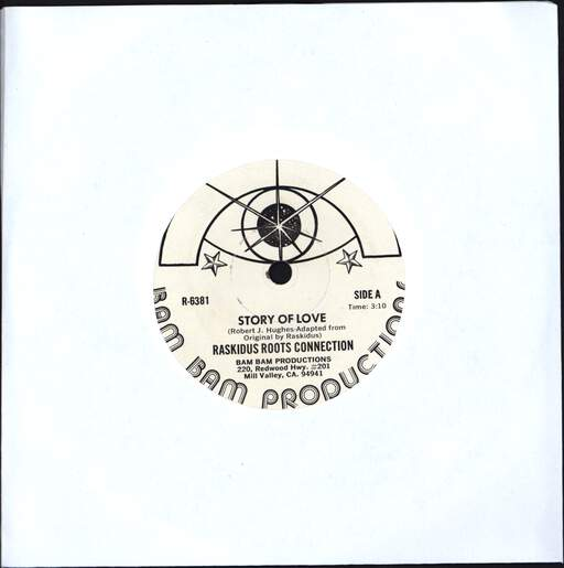 RASKIDUS ROOTS CONECTION - Story Of Love / King Of Glory - 7inch (SP)