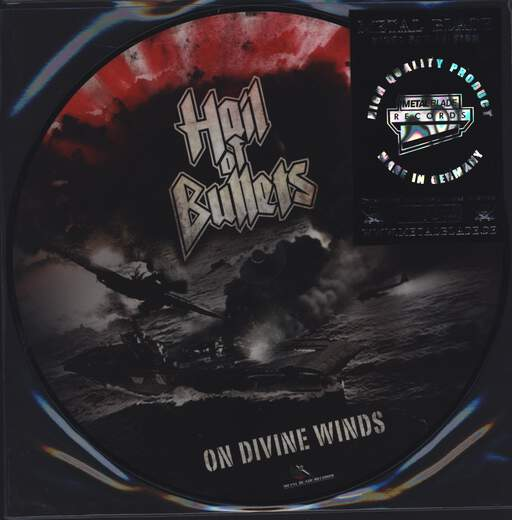 HAIL OF BULLETS - On Divine Winds - LP