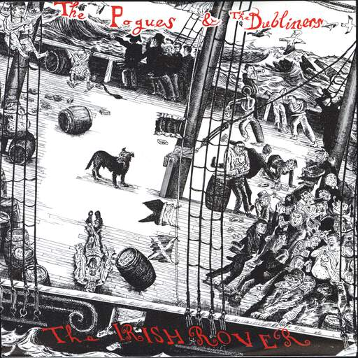 THE POGUES - The Irish Rover - 7inch (SP)