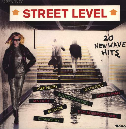 VARIOUS - Street Level (20 New Wave Hits) - LP