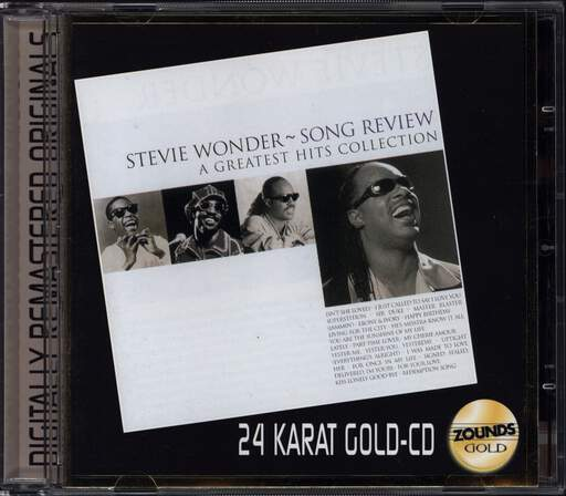STEVIE WONDER - Song Review - A Greatest Hits Collection - CD