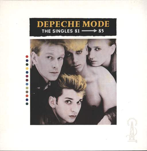 DEPECHE MODE - The Singles 81 - 85 - LP