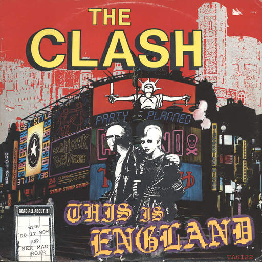 CLASH - This Is England LP