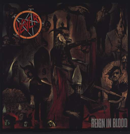 SLAYER - Reign In Blood - LP
