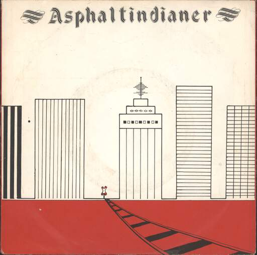 ASPHALTINDIANER - Self-titled - 7inch (SP)