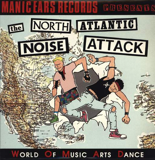 VARIOUS - The North Atlantic Noise Attack - LP x 2