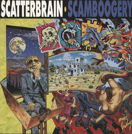 SCATTERBRAIN - Scamboogery - 33T