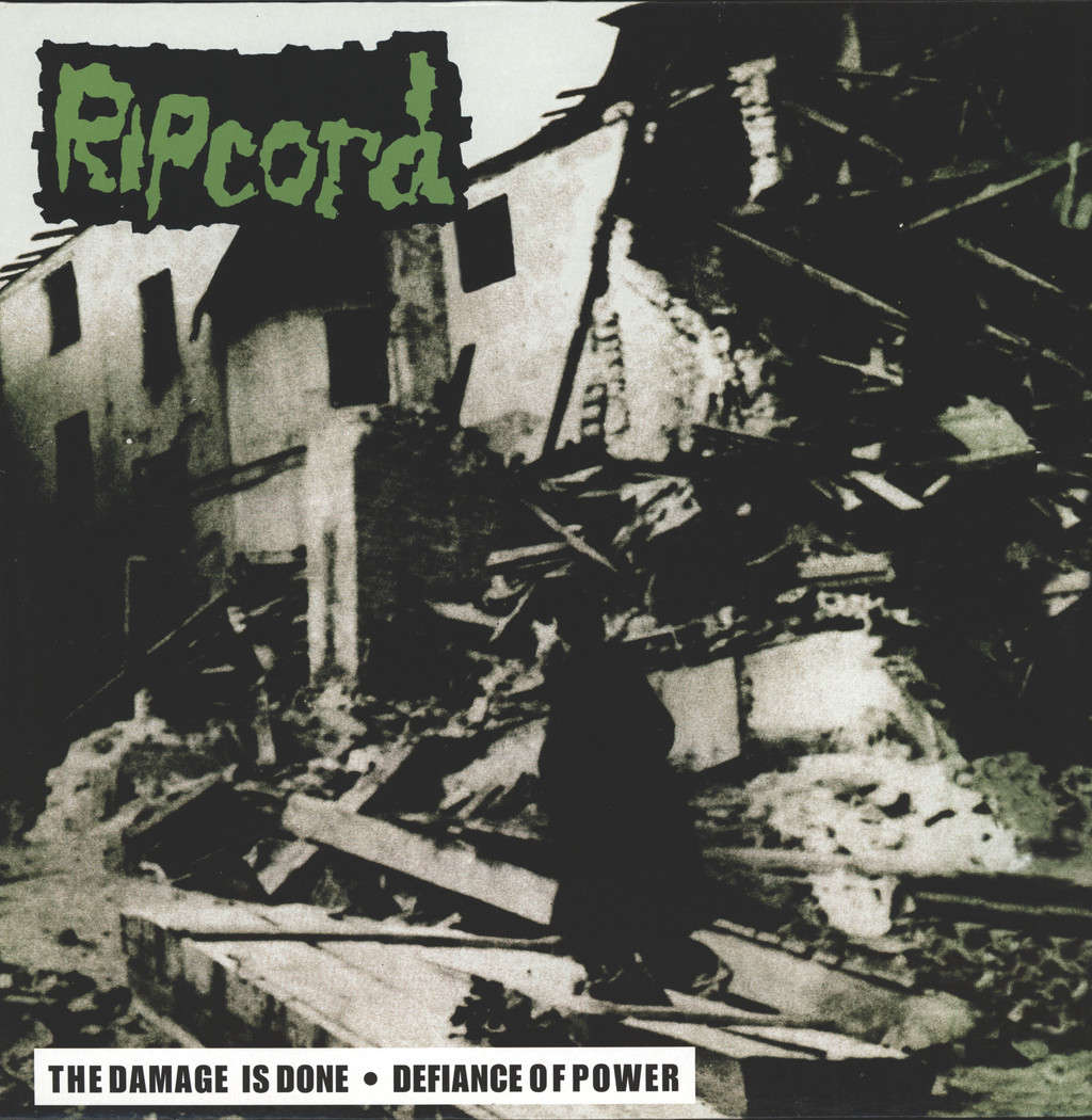 Ripcord: Discography Part I - The Damage Is Done •  Defiance Of Power, LP (Vinyl)
