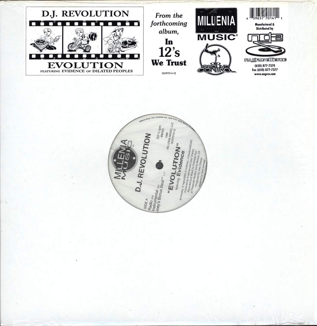 "DJ Revolution: Evolution, 12"" Maxi Single (Vinyl)"
