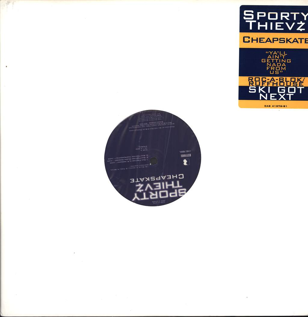 "Sporty Thievz: Cheapskate, 12"" Maxi Single (Vinyl)"