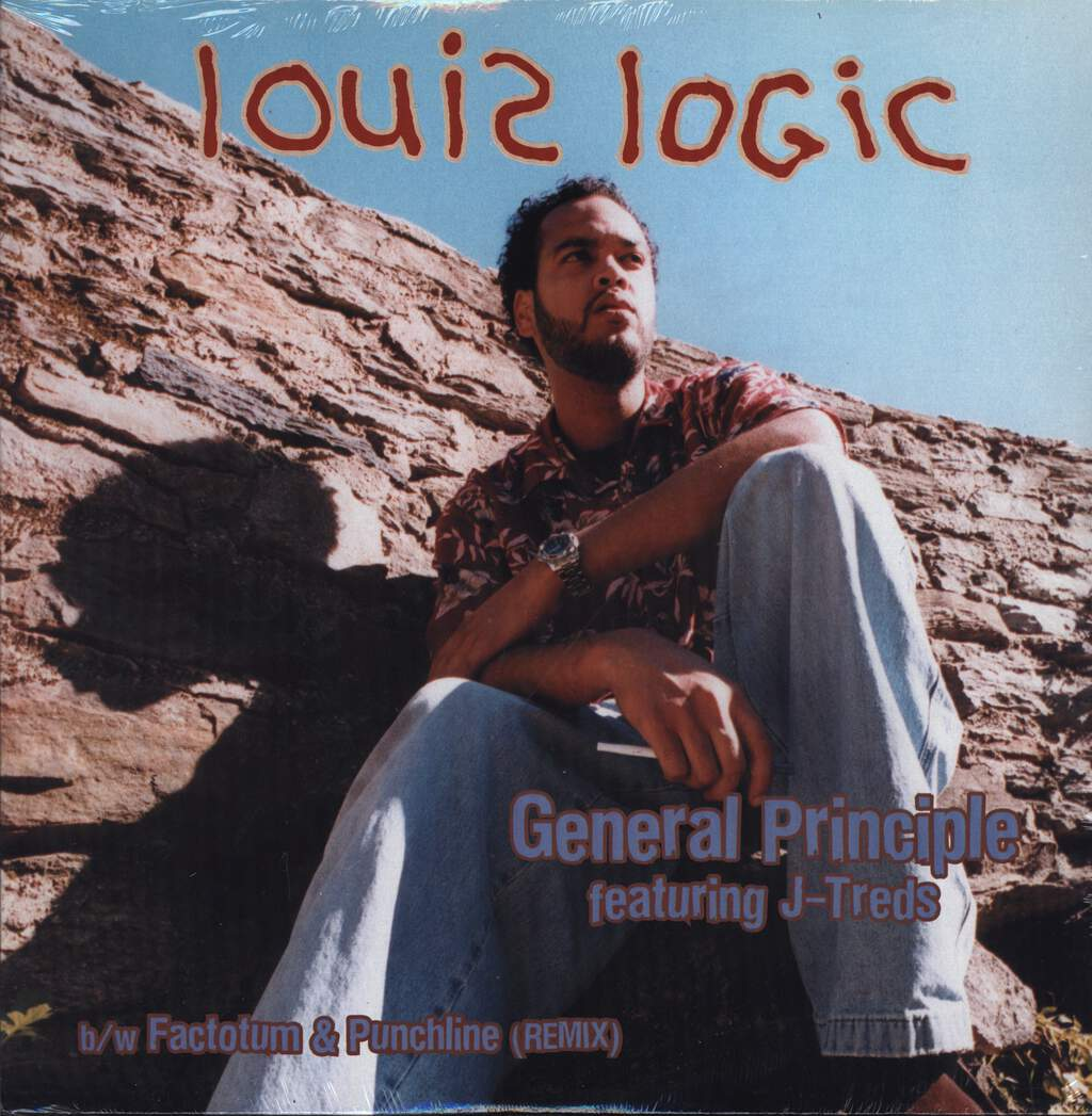"Louis Logic: General Principle, 12"" Maxi Single (Vinyl)"