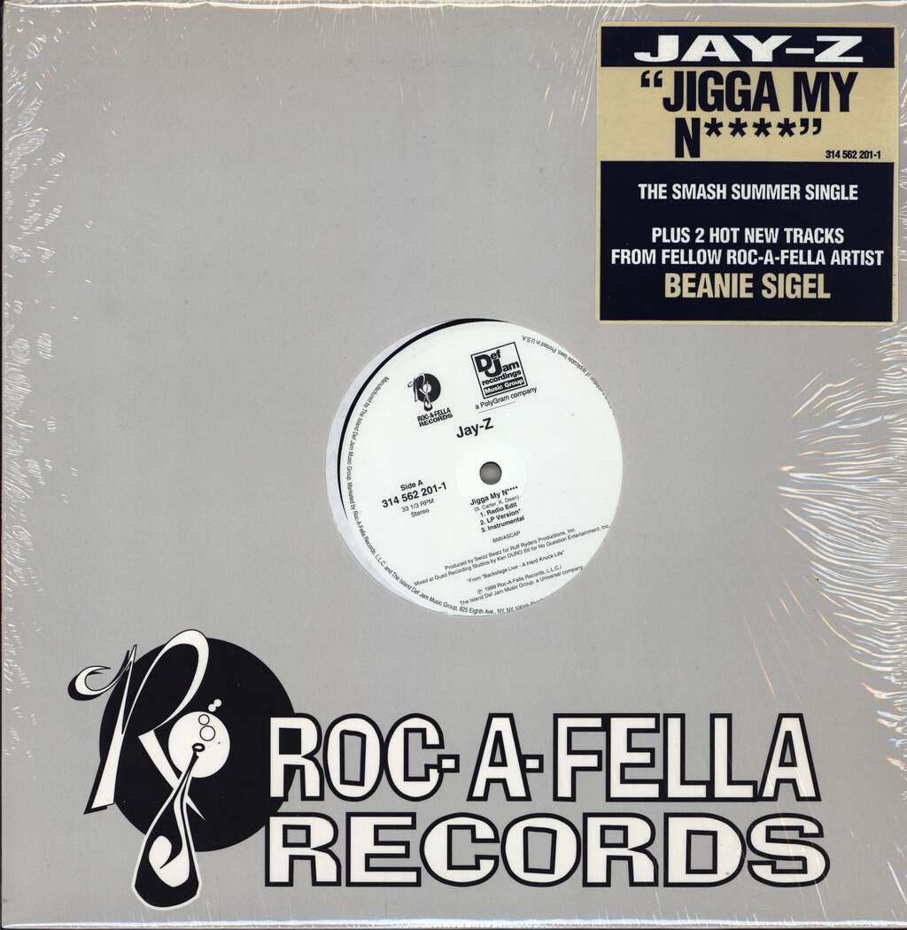 "Jay-Z: Jigga My N**** / What A Thug About, 12"" Maxi Single (Vinyl)"