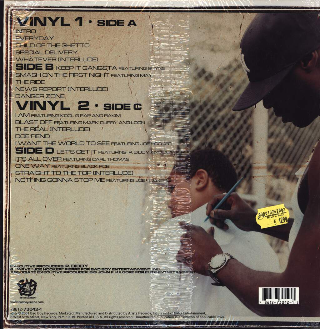G. Dep: Child Of The Ghetto, LP (Vinyl)