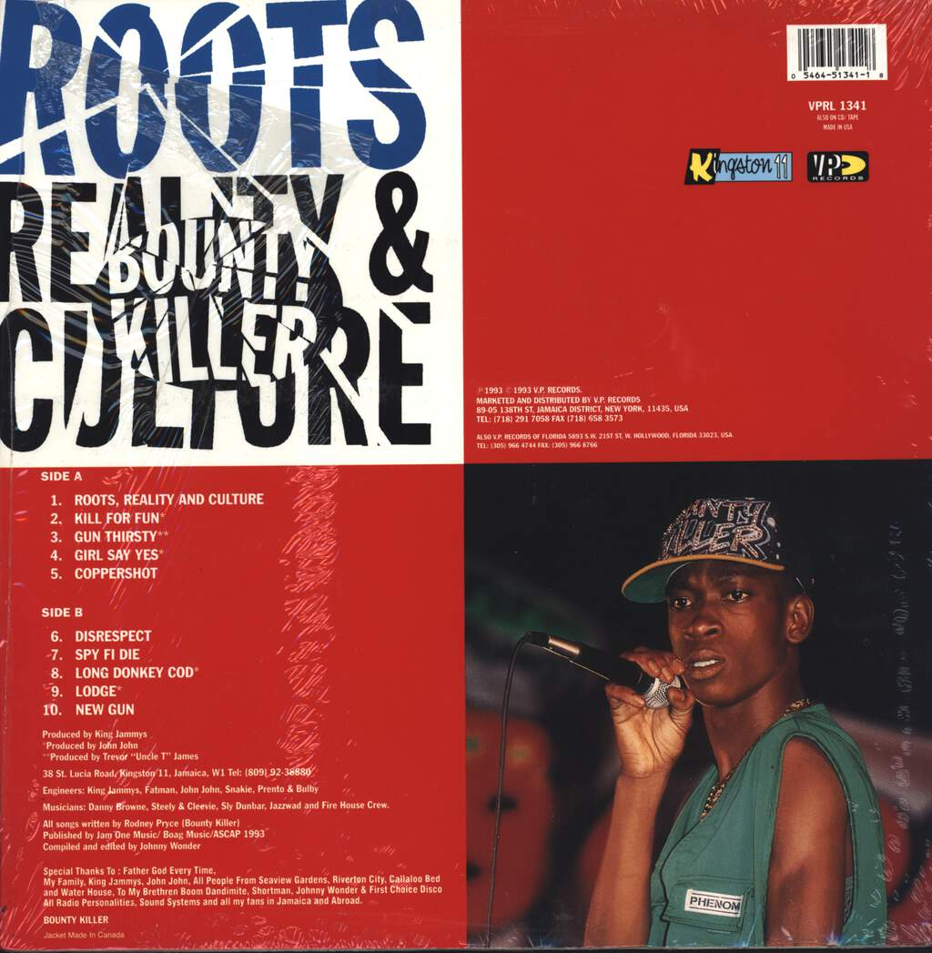 Bounty Killer: Roots, Reality & Culture
