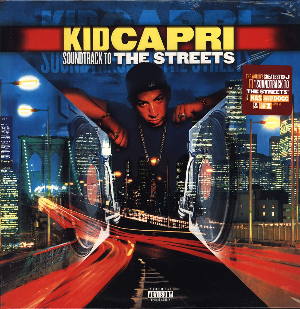 Kid Capri: Soundtrack To The Streets, LP (Vinyl)